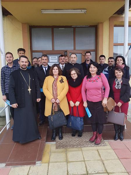28.11.2019 – Cercul metodic al profesorilor de Religie, zona Cărbunești-Novaci,  județul Gorj